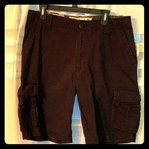 Black Aeropostale Cargo Shorts